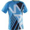 Salming Team SS Tee Men Cyan Blue